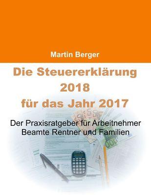 Die Steuererklärung 2018 für das Jahr 2017