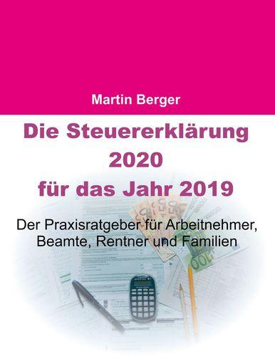 Die Steuererklärung 2020 für das Jahr 2019