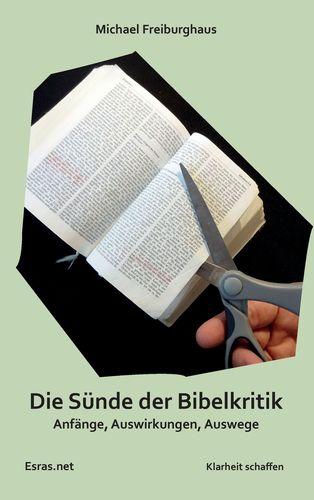 Die Sünde der Bibelkritik