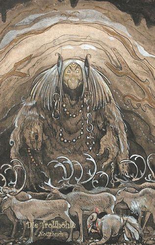 Die Trollhöhle - Notizbuch (Trolle und Goblins)