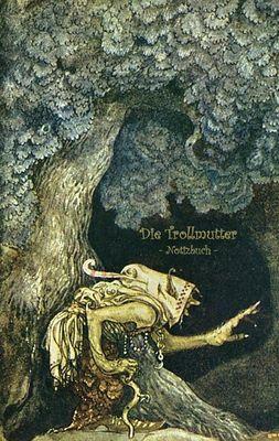 Die Trollmutter - Notizbuch (Trolle und Goblins)