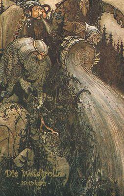 Die Waldtrolle - Notizbuch (Trolle und Goblins)