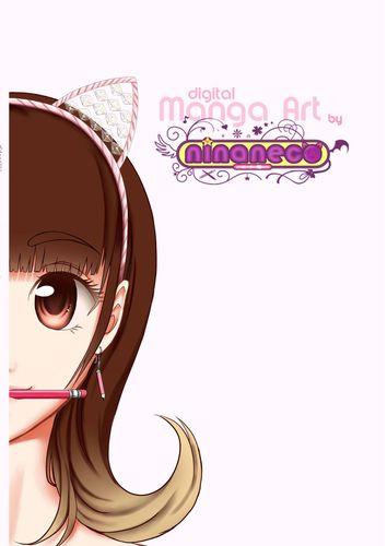 Digital Manga Art by ninaneco