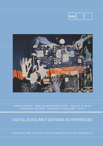 Digital Scholary Editions as Interfaces