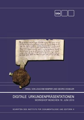 Digitale Urkundenpräsentationen