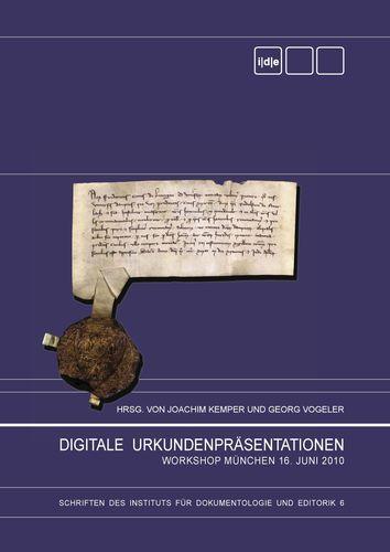 Digitale Urkundenpräsentationen
