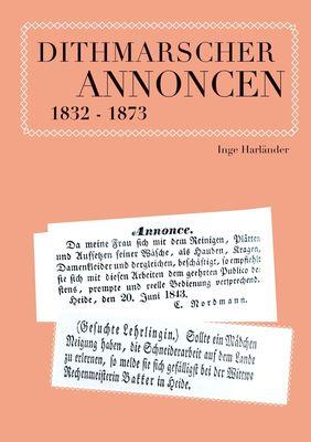 Dithmarscher Annoncen 1832 - 1873