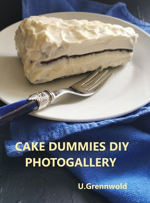 DIY  cake dummies, made with love and garbage