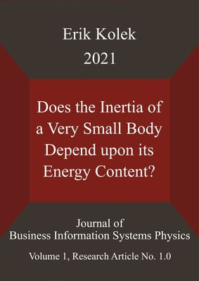 Does the Inertia of a Very Small Body Depend upon its Energy Content?