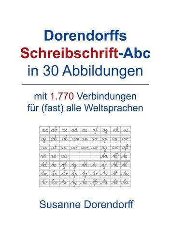 Dorendorffs Schreibschrift-Abc in 30 Abbildungen