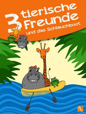 Drei tierische Freunde – und das Schlauchboot