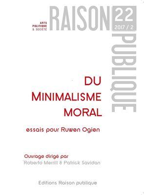 Du Minimalisme moral