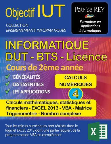 dut informatique - calculs numeriques (tome 4)