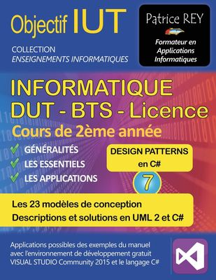 dut informatique - design patterns (tome 7)