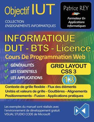 DUT Informatique - Grid Layout (Tome 13)