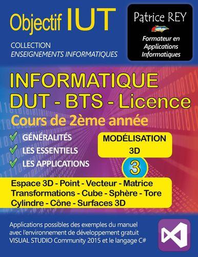DUT Informatique - Modelisation 3D