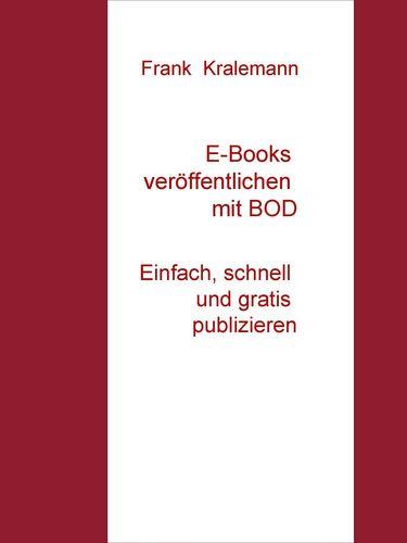 E-Books veröffentlichen mit BOD
