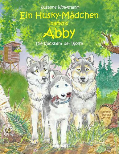 Ein Husky-Mädchen namens Abby