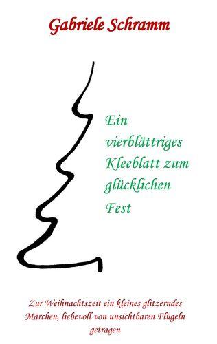 Ein vierblättriges Kleeblatt zum glücklichen Fest