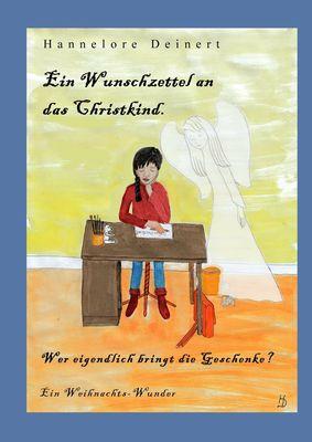 Ein Wunschzettel an das Christkind