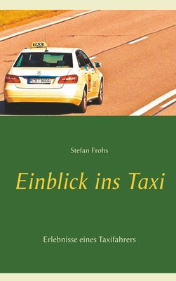 Einblick ins Taxi