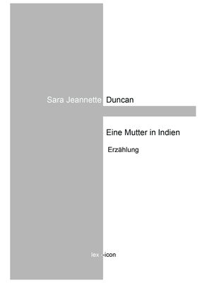 Eine Mutter in Indien