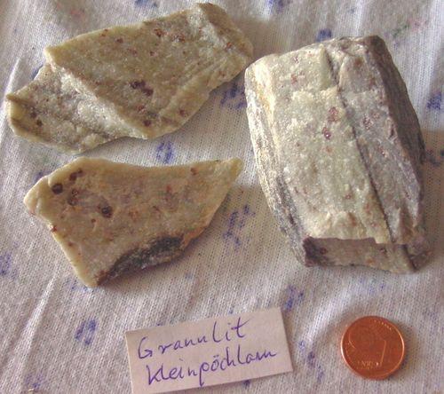 Einige ausgesuchte Mineralien und Gesteine aus dem Waldviertel und der Wachau in Niederösterreich.