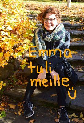 Emma tuli meille