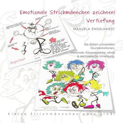 Emotionale Strichmännchen zeichnen
