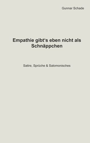 Empathie gibt´s eben nicht als Schnäppchen