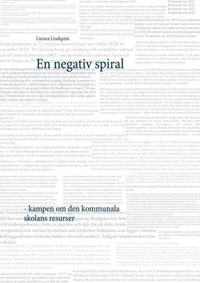 En negativ spiral