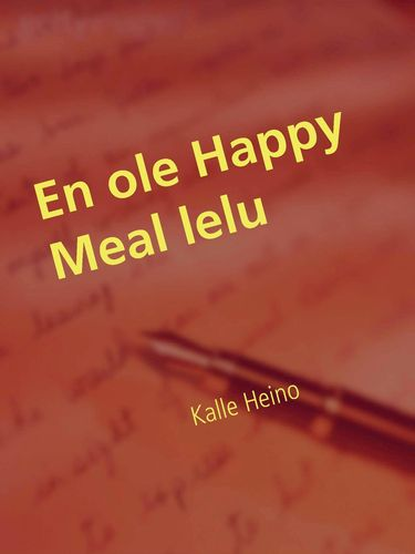 En ole Happy Meal lelu