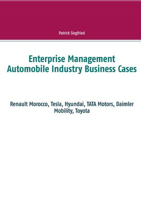 Enterprise Management Automobile Industry Business Cases