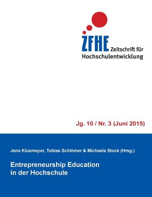 Entrepreneurship Education in der Hochschule