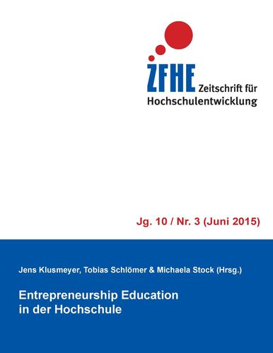 Entrepreneurship Education in der Hochschule