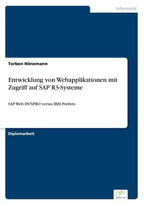 Entwicklung von Webapplikationen mit Zugriff auf SAP R3-Systeme