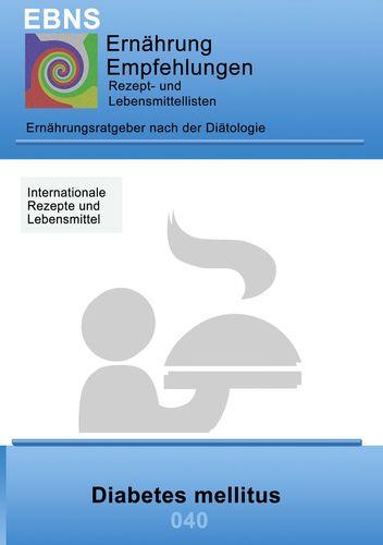 Ernährung bei Diabetes mellitus