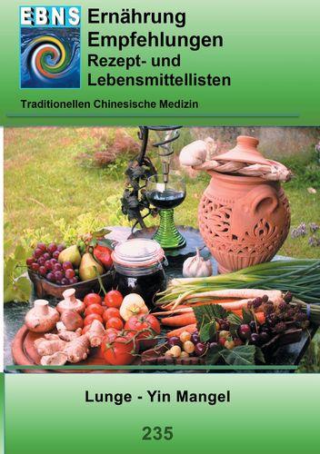 Ernährung - TCM - Lunge - Yin Mangel