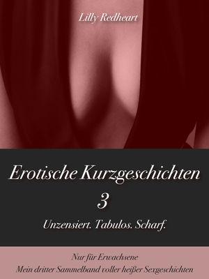 Erotische Kurzgeschichten 3 - Unzensiert. Tabulos. Scharf.