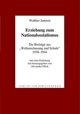Erziehung zum Nationalsozialismus