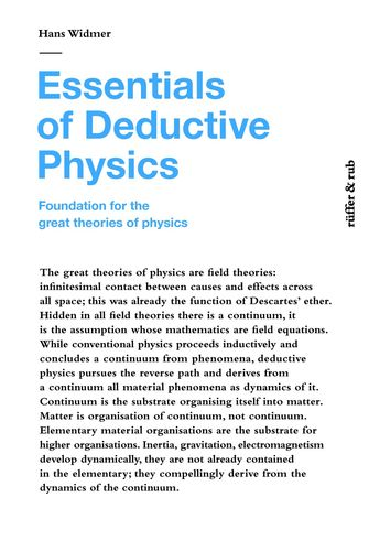 Essentials of Deductive Physics