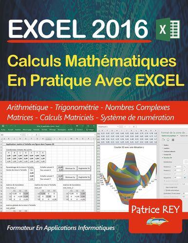 EXCEL 2016 - calculs mathematiques en pratique