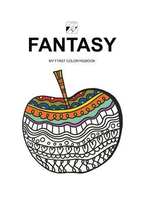 EyeVisto Fantasy Malbuch