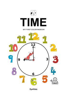 EyeVisto: Time Malbuch