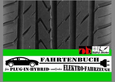 FAHRTENBUCH für Plug-in-Hybrid- und/oder Elektro-Fahrzeuge