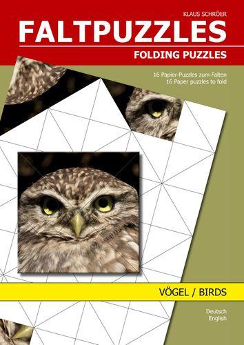 Faltpuzzles Vögel