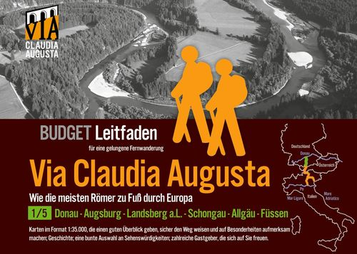 Fern-Wander-Route Via Claudia Augusta 1/5 Budget