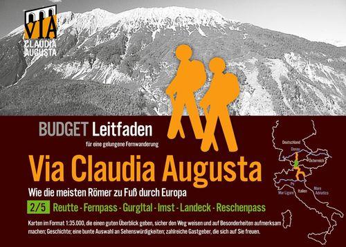 Fern-Wander-Route Via Claudia Augusta 2/5 Tirol   B U D G E T