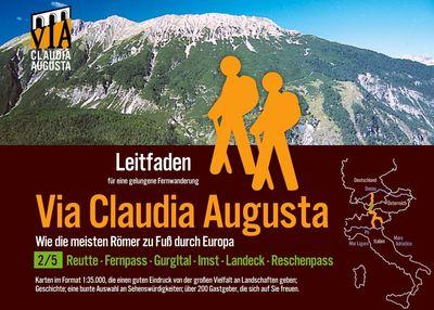 Fern-Wander-Route Via Claudia Augusta 2/5 Tirol