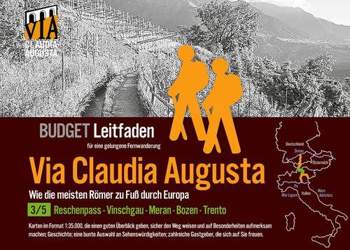 Fern-Wander-Route Via Claudia Augusta 3/5 Reschenpass-Trento Budget